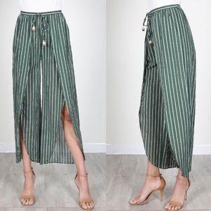 • Melrose Olive Pants •